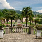 Veduta giardino Villa Lazzareschi