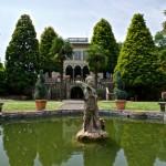 Fontana giardino di Villa Lazzareschi